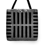 Don't Forget The Drains Bw Tote Bag