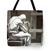 Don't Get Down On Yourself Tote Bag