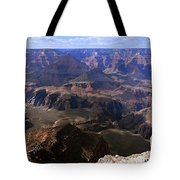 Don't Get Too Close To The Edge Tote Bag