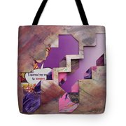 Don't Go Up The Stairs Tote Bag