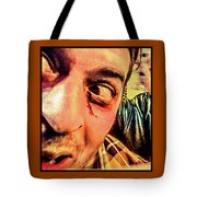 Don't Look Behind You Tote Bag
