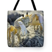 Don't Mess With The Crab Tote Bag