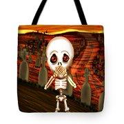 Don't Scream Tote Bag