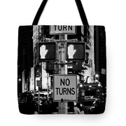 Don't Walk At Times Square Tote Bag