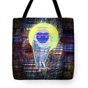 Doodle Buho Tote Bag