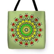 Doodle Mandala Tote Bag