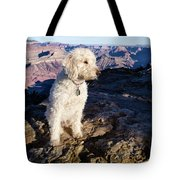 Doodle On Grand Canyon Rim Tote Bag