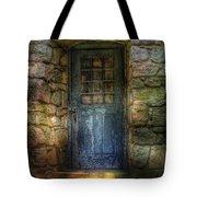 Door - A Rather Old Door Leading To Somewhere Tote Bag