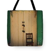 Door And Chair Tote Bag