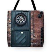 Door And Wheel Tote Bag