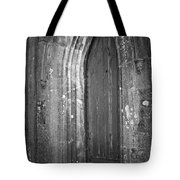 Door At Protestant Church Macroom Ireland Tote Bag