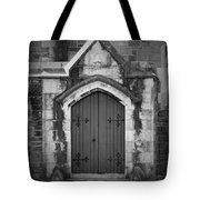 Door At St. Johns In Tralee Ireland Tote Bag