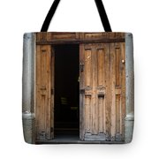 Door Entrance To Church In Guatemala Tote Bag