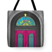 Door Fushia Tote Bag