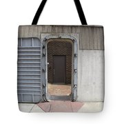 Door In The Richmond Floodwall Tote Bag