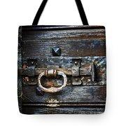 Door Latch Tote Bag