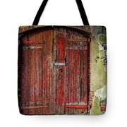 Door To Discovery Tote Bag