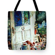 Door To My Heart Tote Bag