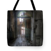 Door To Stairs Tote Bag