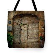 Door To The Secret Garden Tote Bag