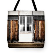 Doors Of Dachau Tote Bag