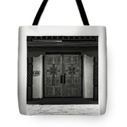 Doors Of Opportunity Tote Bag