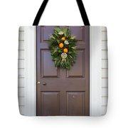 Doors Of Williamsburg 107 Tote Bag