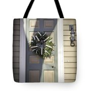 Doors Of Williamsburg 65 Tote Bag