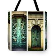 Doors Of Woodlawn Tote Bag