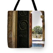 Doors To All Nations Tote Bag