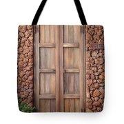 Doorway Steps Back In Time Tote Bag