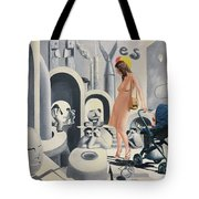 Dope Dupe Museum Tote Bag