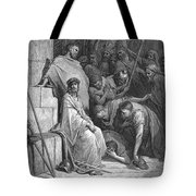 Dore: Christ Mocked Tote Bag by Granger