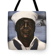 Dorie Miller - Above And Beyond - Ww2 Tote Bag