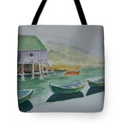 Dories In Waiting Tote Bag