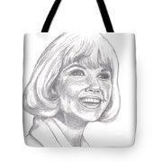 Doris Day  Tote Bag by Carol Wisniewski