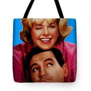 Doris Day Rock Hudson  Tote Bag