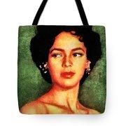 Dorothy Dandridge, Vintage Hollywood Legend Tote Bag