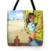 Dorothy In Kansas Tote Bag