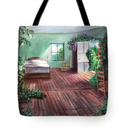 Dorothy's House After The Passage Of Time Tote Bag