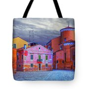 Dorsoduro Colors Under The Clouds 2 Tote Bag