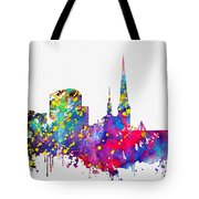 Dortmund Skyline-colorful Tote Bag