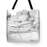 Dory In The Cove Tote Bag
