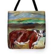 Doster Road Whiteface Tote Bag