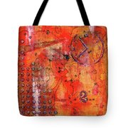 Dot Of Time Tote Bag