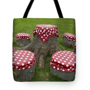 Dots Caffe Tote Bag