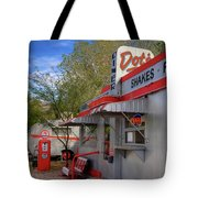 Dot's Diner In Bisbee Tote Bag