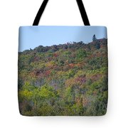 Dots Of Fall Colors Tote Bag