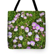 Dotted Meadow Tote Bag