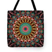 Dotted Wishes No. 4 Mandala Tote Bag